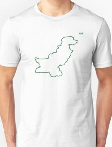 "Pakistan ""Citizen of the Earth"" large Unisex T-Shirt"