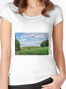Rolling Hills Women's Fitted Scoop T-Shirt