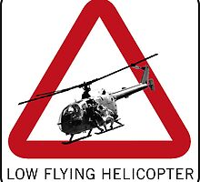 SPECTRE - Low Flying Helicopter by UniversalExport