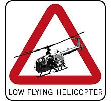 SPECTRE - Low Flying Helicopter Photographic Print