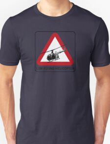 SPECTRE - Low Flying Helicopter Unisex T-Shirt