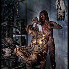 Cyberpunk Painting 058 by Ian Sokoliwski