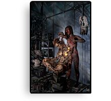 Cyberpunk Painting 058 Canvas Print