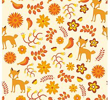 Fox Pattern Photographic Print