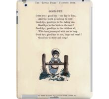 The Little Folks Painting book by George Weatherly and Kate Greenaway 0116 iPad Case/Skin