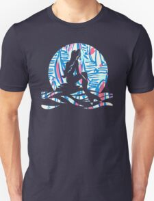 Lilly Pulitzer Inspired Mermaid - Red Right Return Unisex T-Shirt