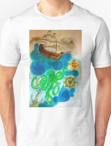 In A Nautical Dream Unisex T-Shirt