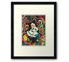 Alice in Wonder Framed Print