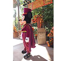 Halloween Mickey Photographic Print