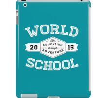 World School 2015 (White!) iPad Case/Skin