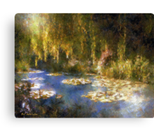Monet after Midnight Canvas Print