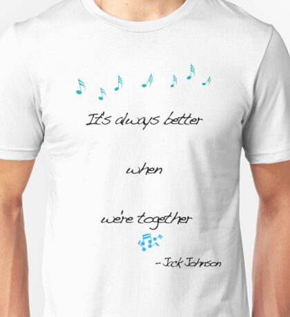 Jack Johnson Unisex T-Shirt