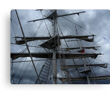 Stormy weather.....reef the topsails.......!   Canvas Print