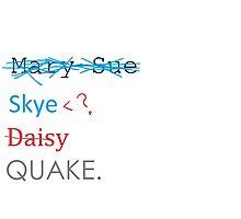 The Evolution of Skye (AOS) Photographic Print