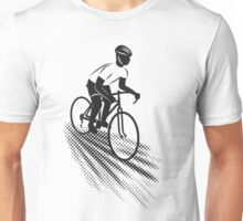 Go Cyclist - Black Unisex T-Shirt