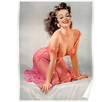Pin Up Lily Poster