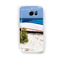 Bonaire. Old Boat Samsung Galaxy Case/Skin