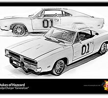 Dukes of Hazzard - 1969 Dodge Charger by ea-photos