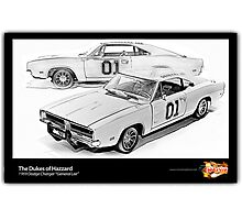 Dukes of Hazzard - 1969 Dodge Charger Photographic Print