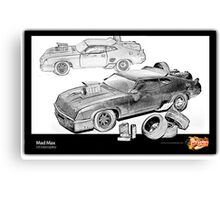 Mad Max -V8 Interceptor Canvas Print