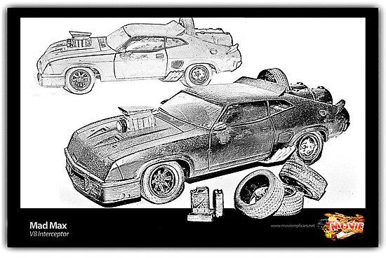 Mad Max -V8 Interceptor by Ewan Arnolda