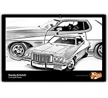 Starsky & Hutch - Ford Gran Torino Photographic Print
