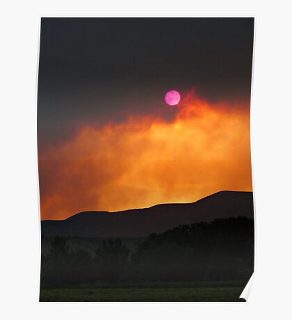 Sun & Smoke Poster