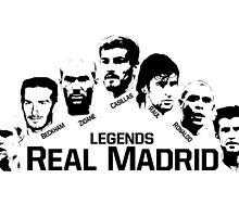 real madrid legends by makelele888
