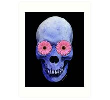 Skull Art - Day Of The Dead 1 Art Print