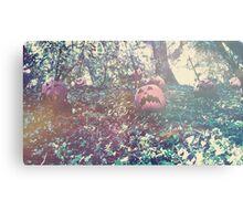Pumpkin Jack Metal Print
