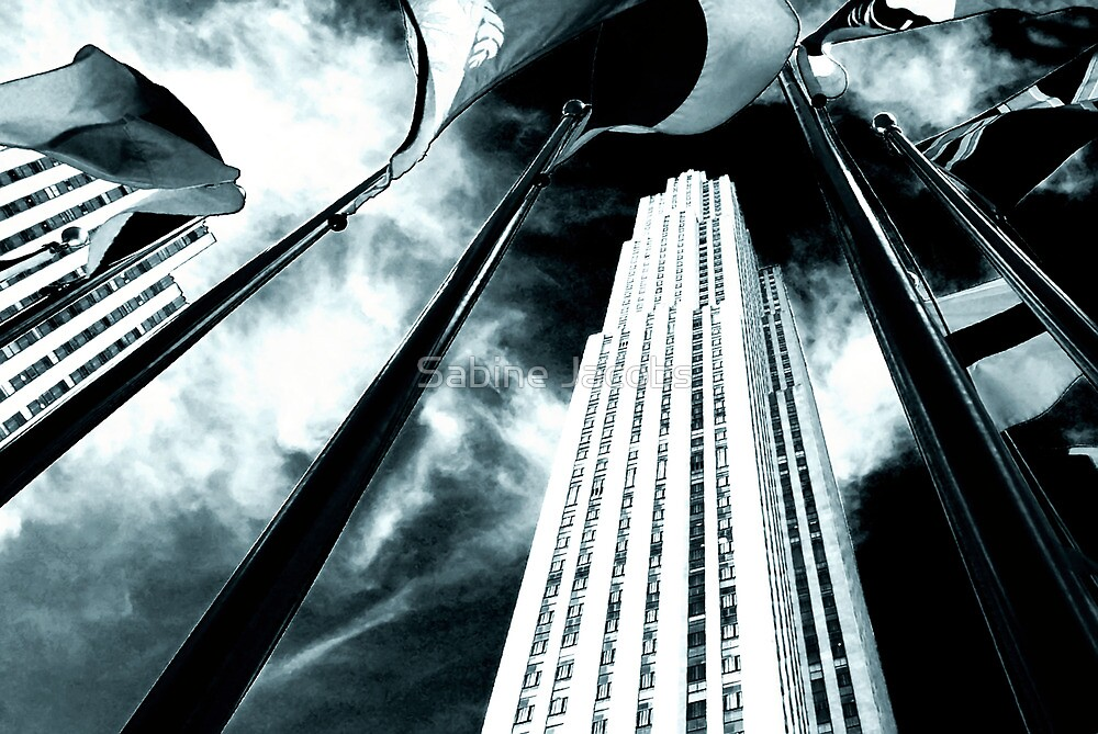 Rockefeller I, New York City, USA by Sabine Jacobs