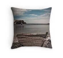 Lulworth Cove - A Different perspective ! Throw Pillow