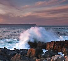 The Crashing Wave by Robert Baker