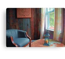 Easy Chair by the Window Canvas Print