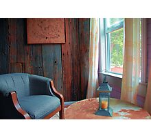 Easy Chair by the Window Photographic Print
