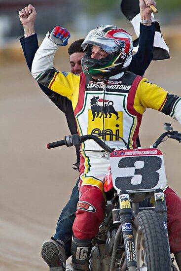 Joe Kopp Wins the Yavapai Mile for Ducati! by Craig Durkee