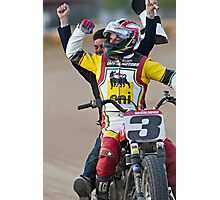 Joe Kopp Wins the Yavapai Mile for Ducati! Photographic Print