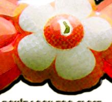 dickie bow Sticker