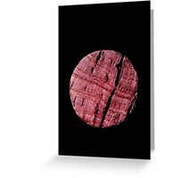 Cabernet Cork Greeting Card