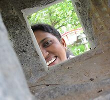 Leena caught by surprise by Nupur Nag