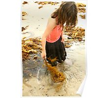 twirling seaweed Poster