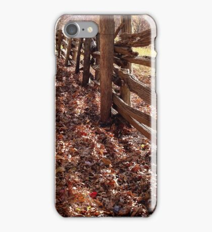 Rustic Fence  ^ iPhone Case/Skin