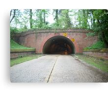 Parkway Tunnel Canvas Print