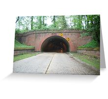 Parkway Tunnel Greeting Card