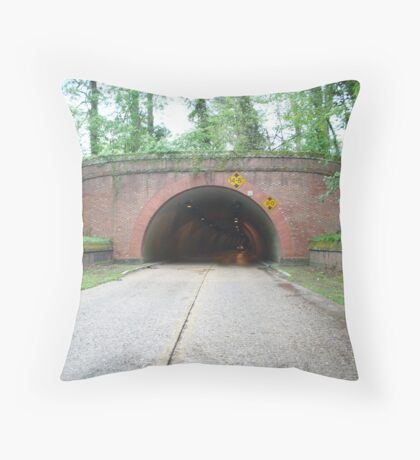 Parkway Tunnel Throw Pillow