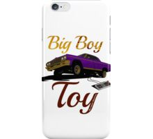 Big Boy Toy iPhone Case/Skin