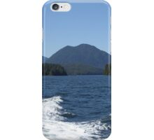 Sea, waves and mountains iPhone Case/Skin