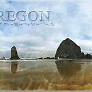 I love the Oregon Coast - Haystack Rock by Myillusions