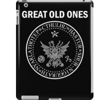 Seal of the Great Old Ones - White iPad Case/Skin