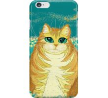 Cat And Pollen iPhone Case/Skin